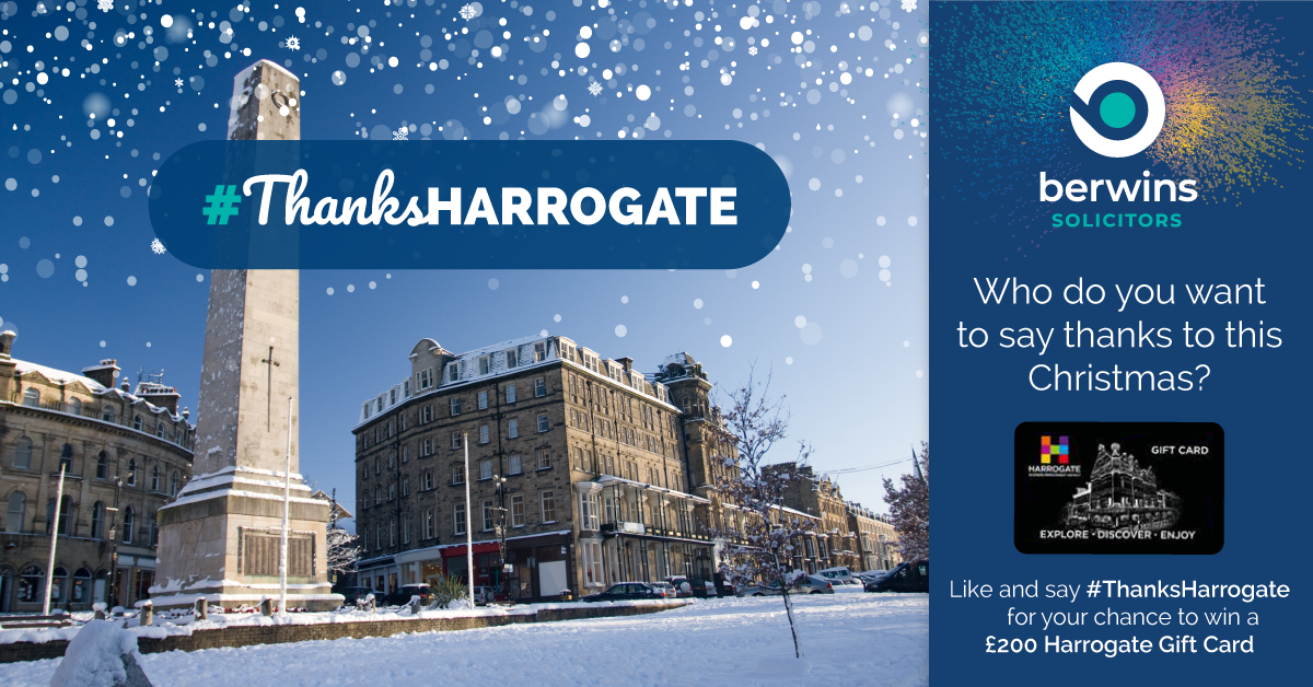 #ThanksHarrogate Berwins Solicitors The HArrogate Girl Blogger
