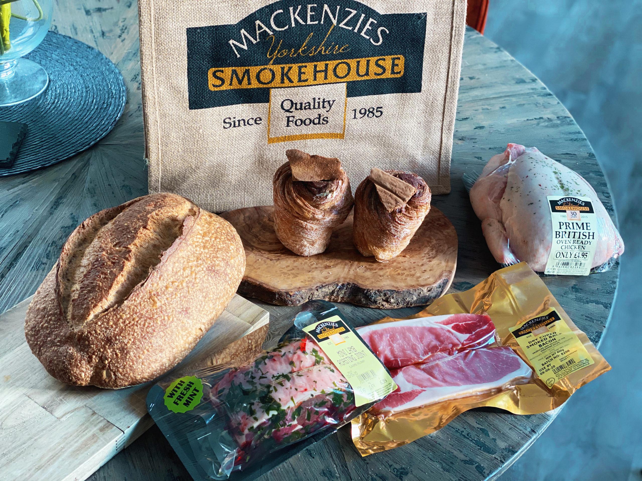 The Harrogate Girl Mackenzies farm shop Harrogate life Lockdown life Support local