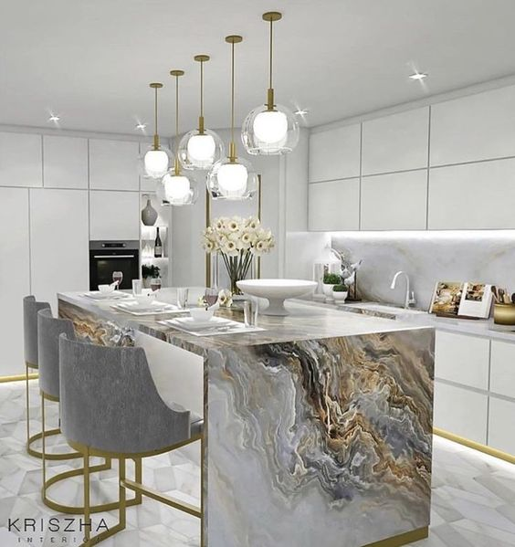 Pinterest, Kitchen Islan, Kitchen Design, The Harrogate Girl