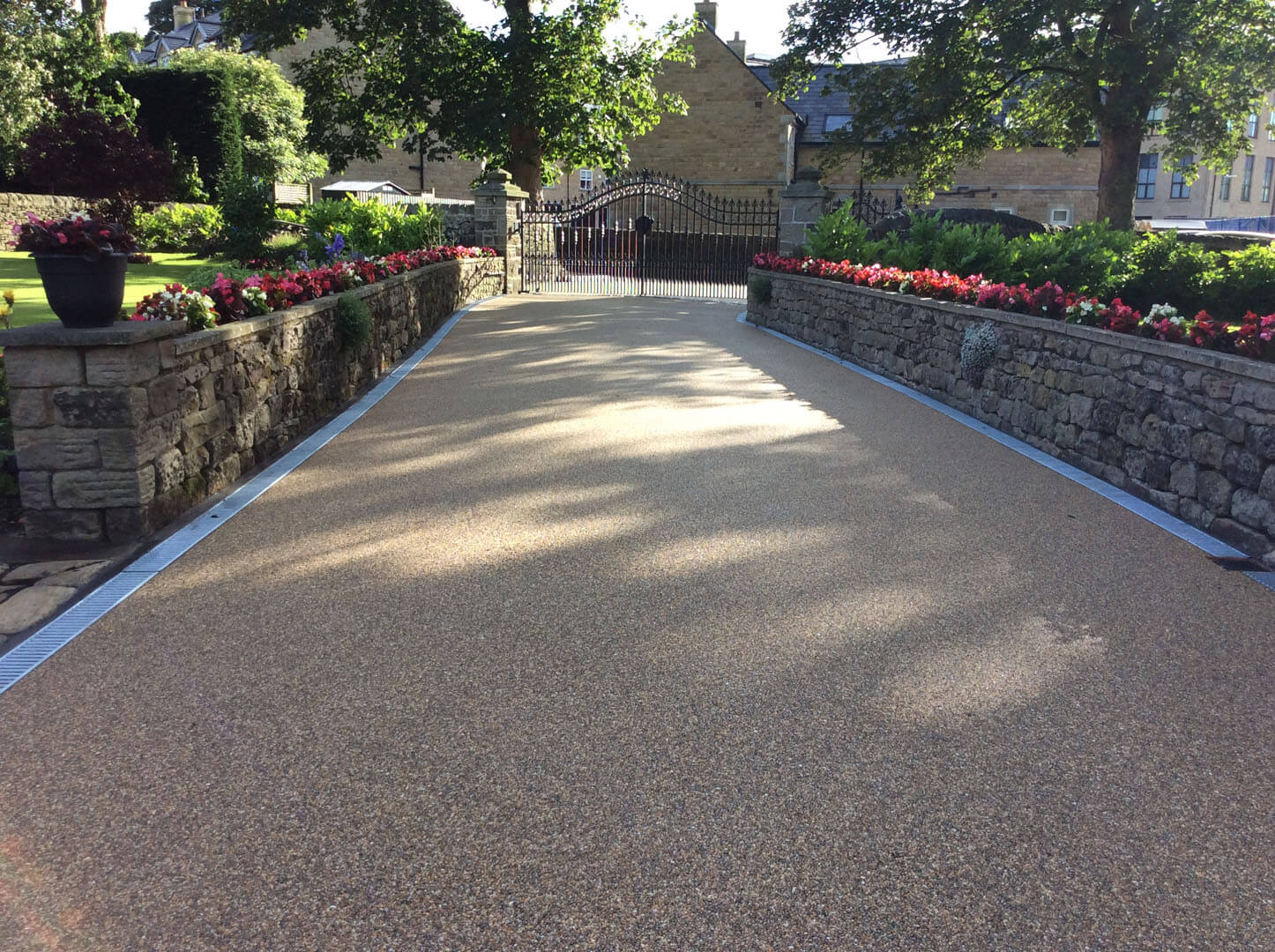 Build a drive the harrogate girl driveway home and garden 7