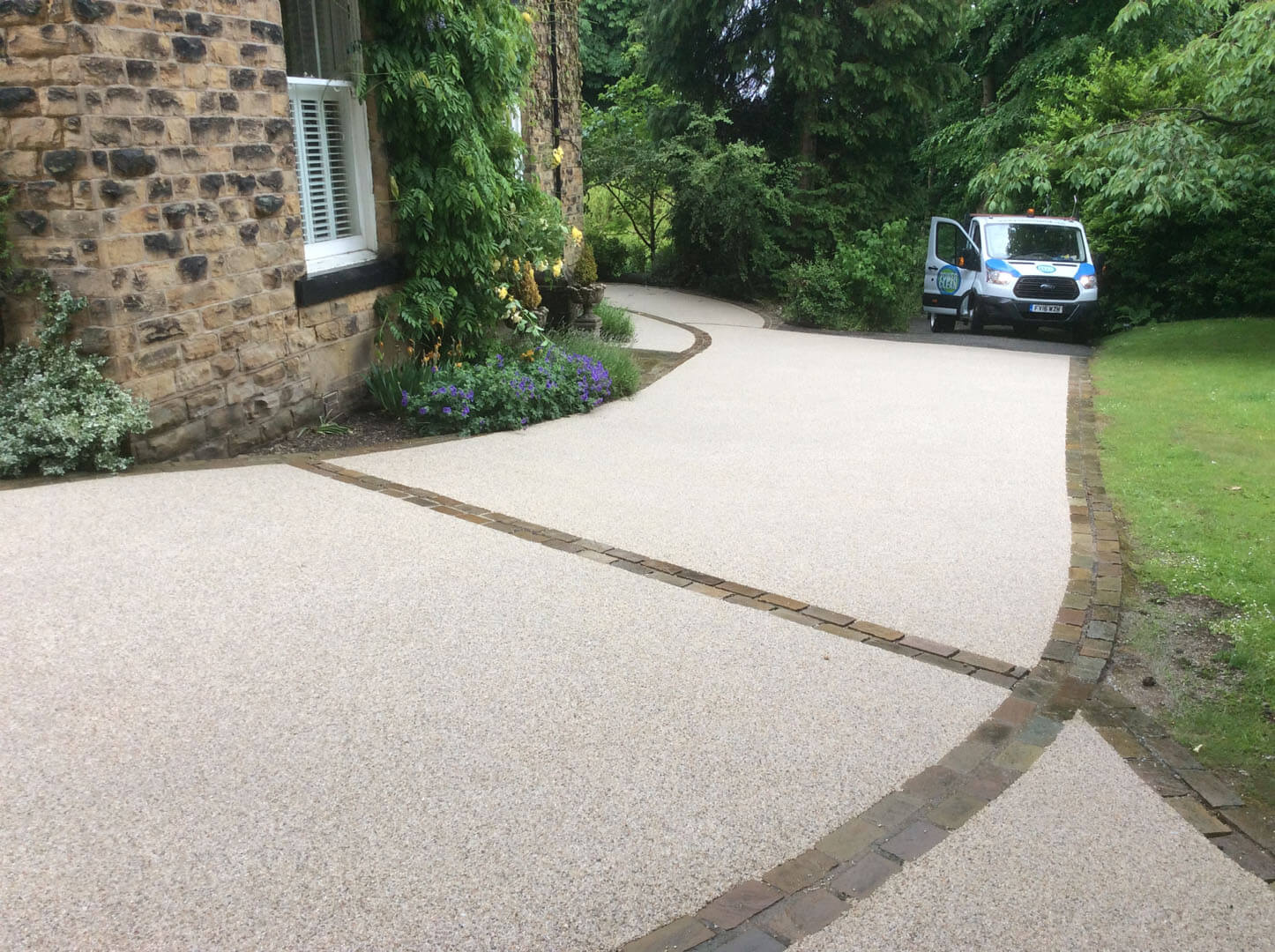 Build a drive the harrogate girl driveway home and garden
