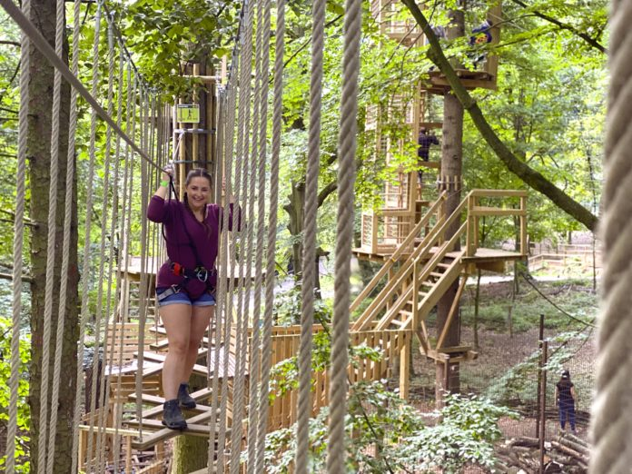 Go Ape Leeds Harrogate Blogger Yorkshire Days Out