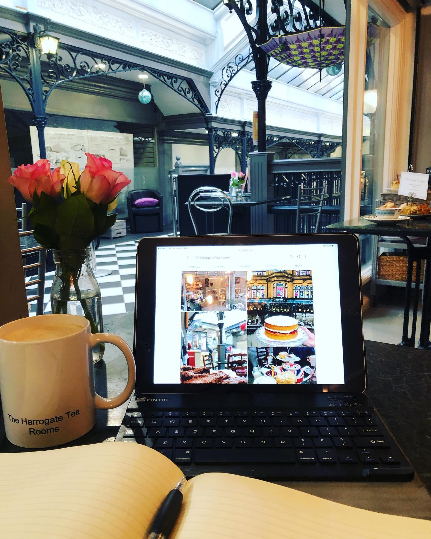 Working From Home Harrogate Coffee Shop The Harrogate Tea Rooms