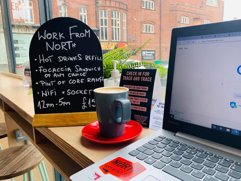 Working From Home Harrogate Coffee Shop North Bar