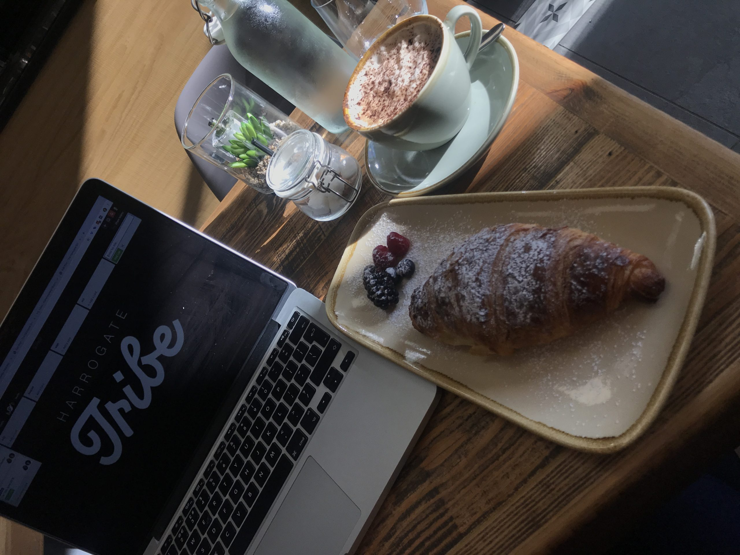 Working From Home Harrogate Coffee Shop manna Bakery