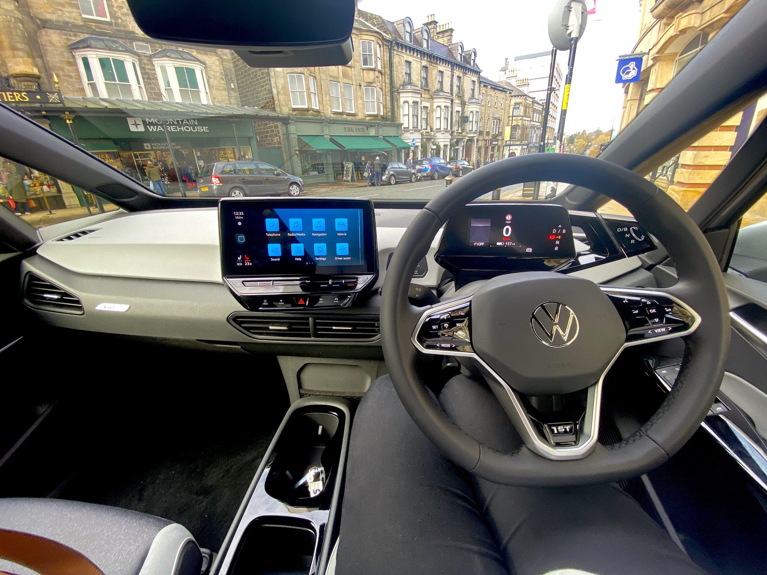 ID3 Car Reveiw VW The Harrogate Girl Harrogate Local Car Dealer